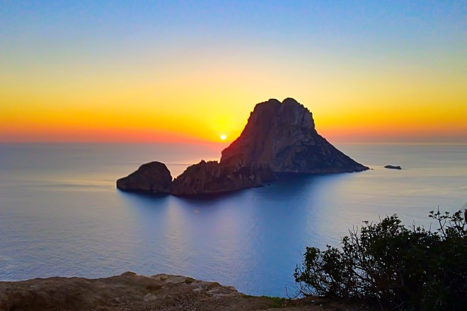 Es Vedra, Ibiza. 01st January 2015 iPhone 5S © Cat Milton